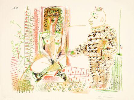 """Pablo Picasso, '""""Le peintre et son modèle""""', 1954"""