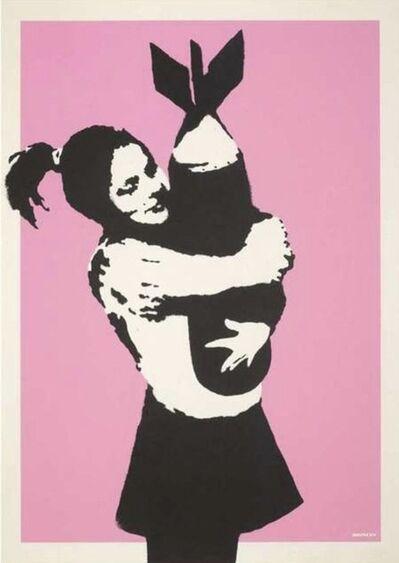 Banksy, 'Bomb Hugger (Signed)', 2003