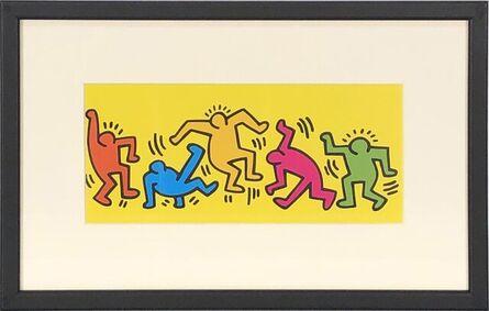 Keith Haring, 'Dance II', 1998