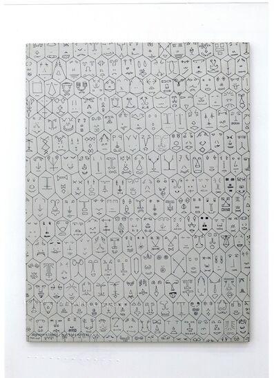Alighiero Boetti, 'Faccine', 1977