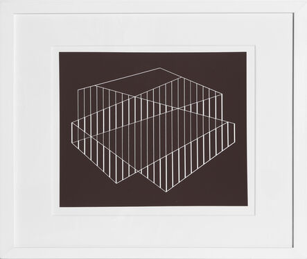 Josef Albers, 'Fenced from Formulation: Articulation', 1972