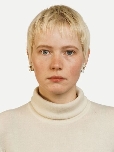 Thomas Ruff, 'Portrait (A. Kachold)', 1987