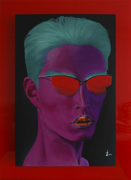 Lakshmi Mohanbabu, 'Oriental Purple', 2017
