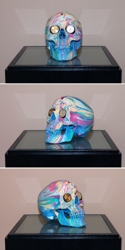 Damien Hirst, 'The Hours Spin Skull #5', 2009