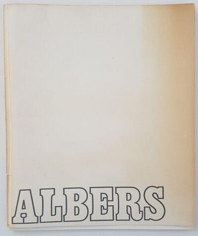 "Josef Albers, '""ALBERS""', 1971"