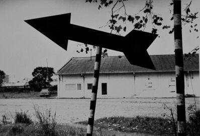 """Facundo de Zuviría, 'From the series """"Estampas Porteñas"""", """"Arrow, Port of Buenos Aires""""', 1986"""