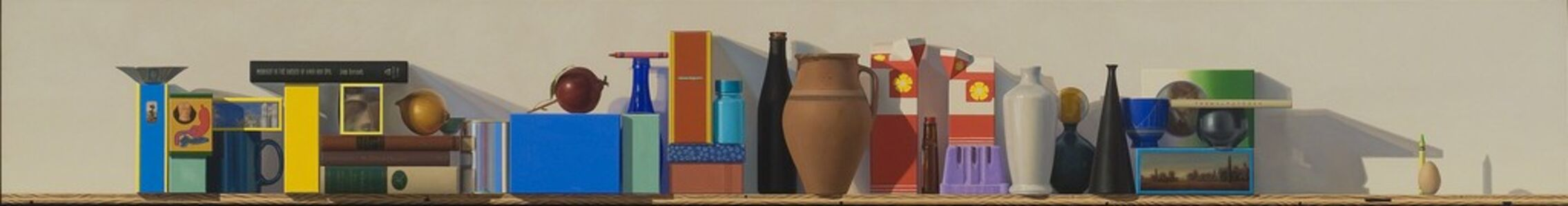 Michael Tompkins, 'Red, Yellow, Blue and Black Bottle', 1997