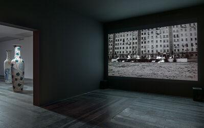 Santiago Sierra, 'Burned Word', 2012