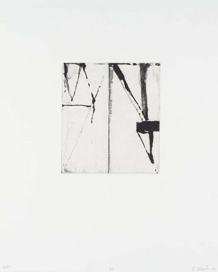 Brice Marden, 'Etchings to Rexroth 20', 1986
