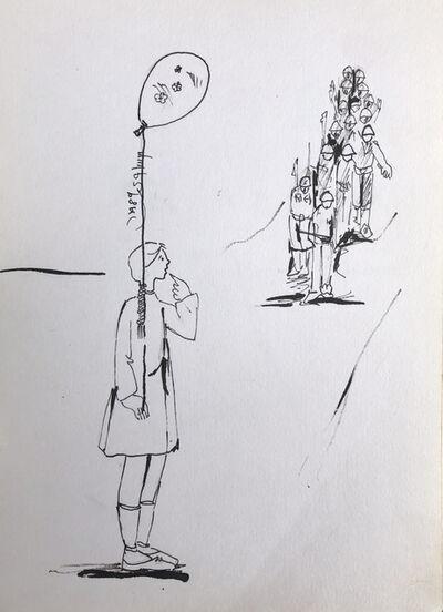 Fayez Sirsawi, 'Diary #3', 1989
