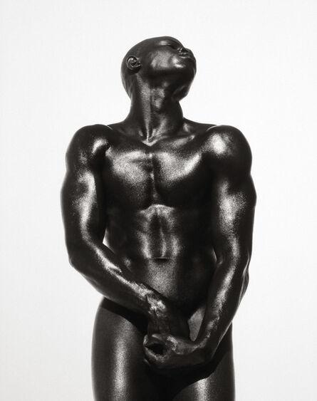 Herb Ritts, 'Djimon Three Quarter Nude', 1989