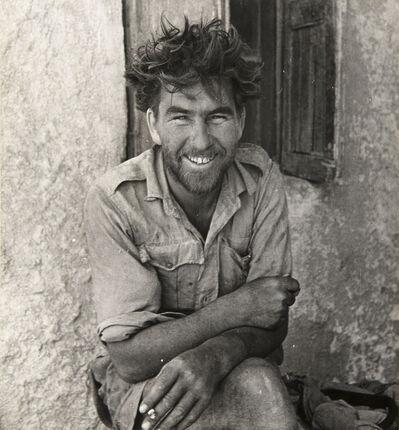 Cecil Beaton, 'A MEMBER OF Y-PATROL OF THE LONG-RANGE DESERT GROUP, SIWA OASIS, WESTERN DESERT, EGYPT', 1942
