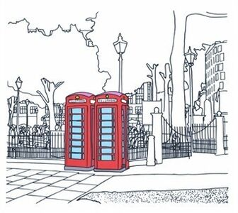 Frank Kiely, 'Leicester Square', 2010