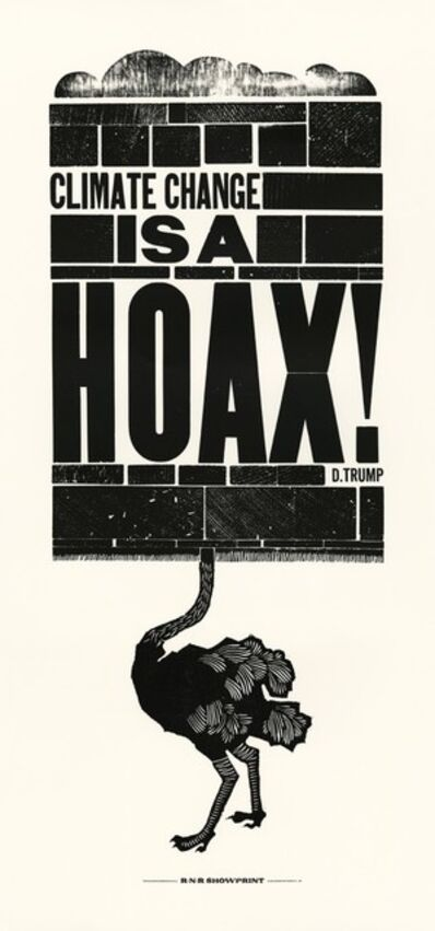 Ivanete Blanco, 'Climate Change is a HOAX!', 2017