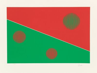 Gisela Beker, 'Red and Green', c. 1975