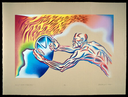 Judy Chicago, 'Driving the World to Destruction', 1988
