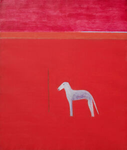 Craigie Aitchison, 'Dog in Red Painting ', 1974-1975