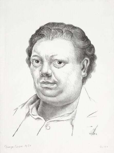 Diego Rivera, 'Autoretrato (Self-Portrait)', 1930