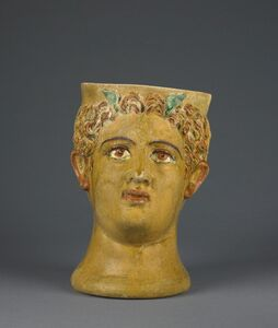 Likinnios, 'Lead-Glazed Head Kantharos'