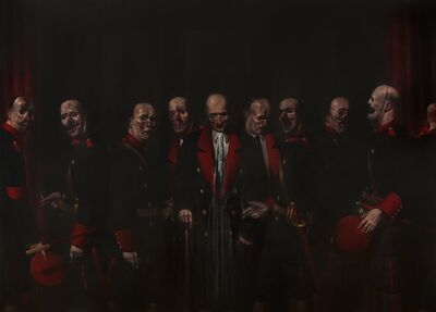 Ken Currie, 'Officers of The Great War', 2014