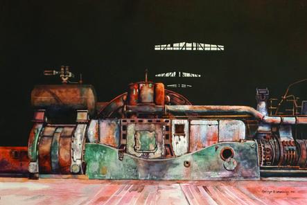 Carolyn Latanision, 'Powered Down, Bethlehem Steel'