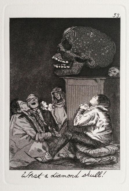 Emily Lombardo, 'What a diamond skull!, from The Caprichos', 2013