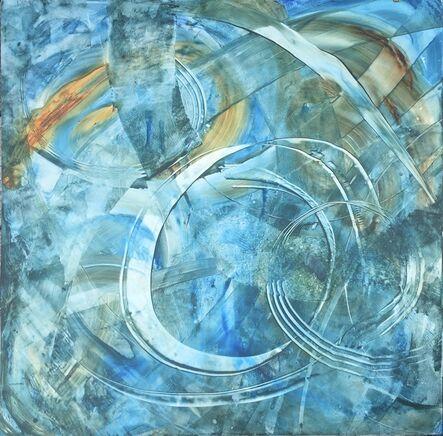 Ginny Zanger, 'Tai Chi Circling Hands Aquarelle', 2020