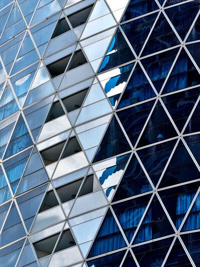 Andrew Prokos, 'Park Towers Architectural Detail #2, Dubai', 2020
