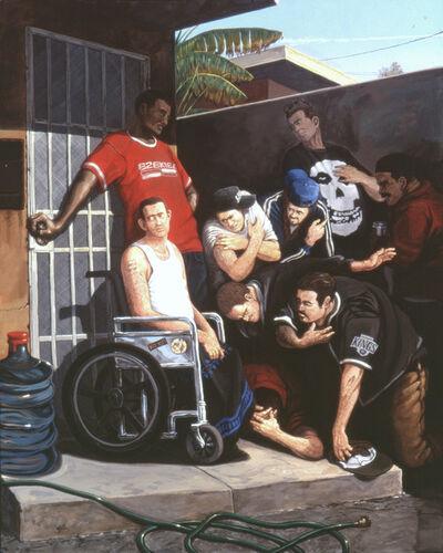Sandow Birk, 'The Mocking of Jesus', 2004