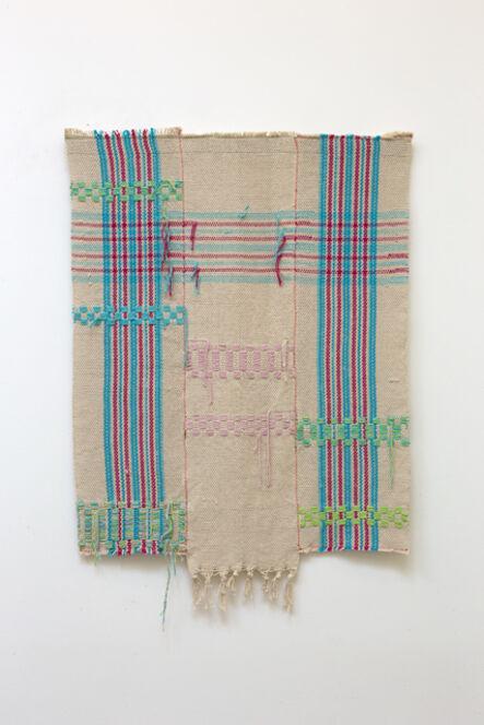 Diedrick Brackens, 'braided gate', 2019