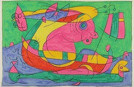 Joan Miró, 'XIII. Ubu Roi: Le Voyage de Retour', 1966