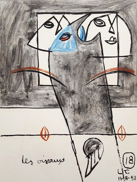 Le Corbusier, 'Unité, Planche 18 (Set of 2)', 1965