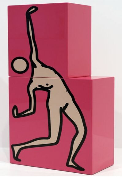 Julian Opie, 'Caterina Dancing, Pink 2', 2010