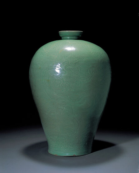 Unknown Artist, 'Celadon Bottle', Goryeo Dynasty-12th century
