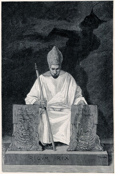 Sascha Schneider, 'Sein Shicksal', 1894-1895
