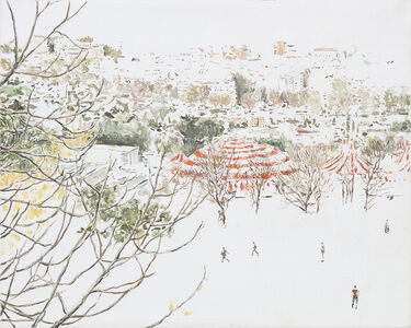 Gianluca Di Pasquale, 'Studio per circo rosso', 2019