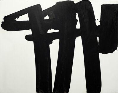 Pierre Soulages, 'Peinture, 130 x 162, 28 juillet 1971', 1971