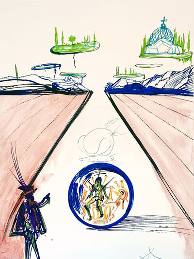 Salvador Dalí, 'Intra-Uterine Paradisiac Locomotion', 1975