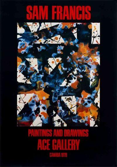 Sam Francis, 'Paintings and Drawings', 1979
