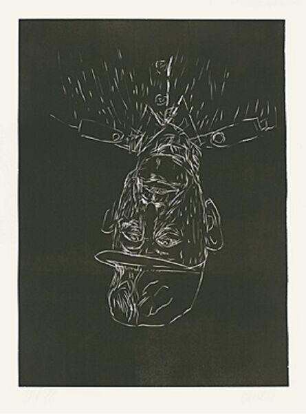 Georg Baselitz, 'Veteran', 2002