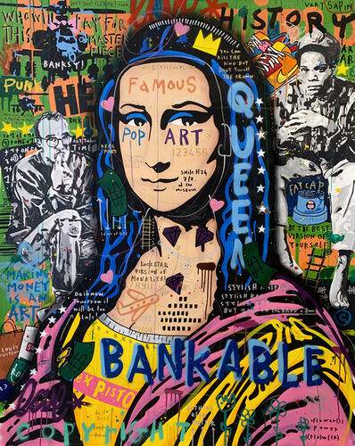 Jisbar, 'Sex Pistols Mona', 2021