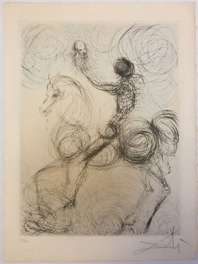 Salvador Dalí, 'Chevalier et la Mort (Knight and Death)', 1968