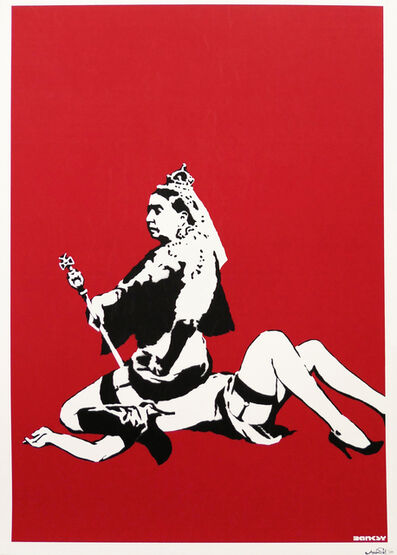 Banksy, 'Queen Victoria (Signed)', 2003