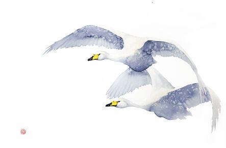 Karl Martens, 'Whooping Swans'