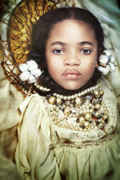 Tokie Rome-Taylor, 'Our Worth > Cotton and Gold- Contemporary Portrait Photography/ Young Black Child', 2020
