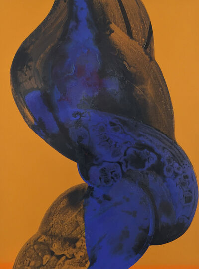 Ian Hughes, 'Blue Twist', 2015
