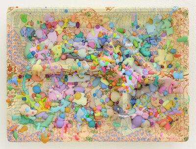 "Aida Makoto, 'Sa-Mi (""Lunchbox Paintings"" series)', 2016"