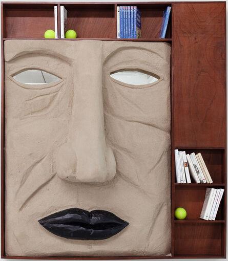 Victor Delestre, 'Selfportrait as a bookshelf', 2020