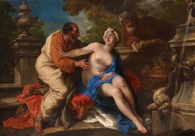 Pier Leone Ghezzi, 'Susannah and the Elders ', 1720-1730