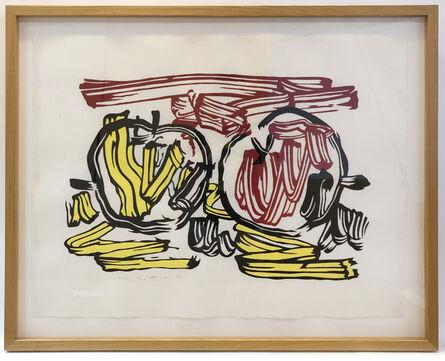 Roy Lichtenstein, 'Red Apple and Yellow Apple', 1982